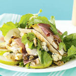 Салат из груш с курицей